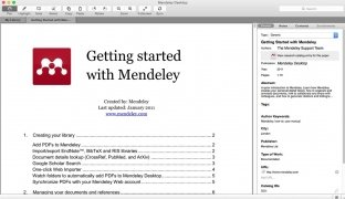 Mendeley Desktop image 3 Thumbnail