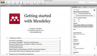 Mendeley Desktop image 3 Thumbnail