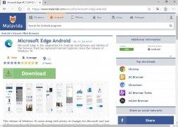 Microsoft Edge imagen 1 Thumbnail