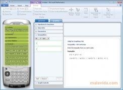 Microsoft Mathematics imagen 4 Thumbnail