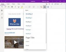 Microsoft OneNote immagine 6 Thumbnail