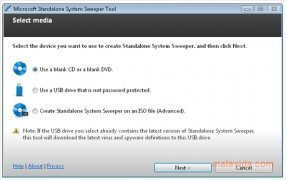 Microsoft Standalone System Sweeper imagen 1 Thumbnail