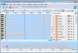MIDI Editor bild 1 Thumbnail