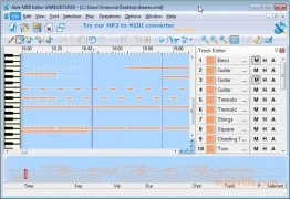 MIDI Editor image 1 Thumbnail