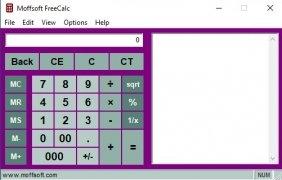 Moffsoft FreeCalc image 4 Thumbnail