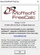 Moffsoft FreeCalc image 6 Thumbnail