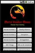 Mortal Kombat Moves image 1 Thumbnail