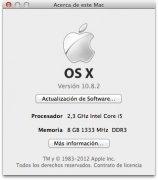 macOS Mountain Lion imagem 1 Thumbnail