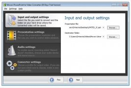 Movavi PowerPoint to Video Converter imagen 1 Thumbnail