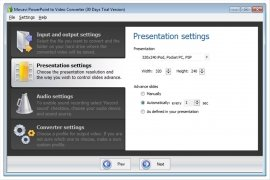 Movavi PowerPoint to Video Converter image 2 Thumbnail