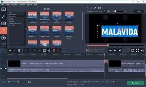 Movavi Video Editor imagen 9 Thumbnail