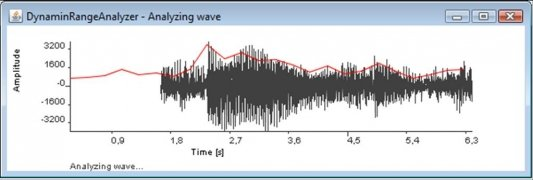 MP3 Dynamic Range Analyzer Изображение 3 Thumbnail