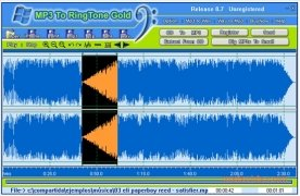 MP3 To Ringtone  Gold 8.7 imagen 1