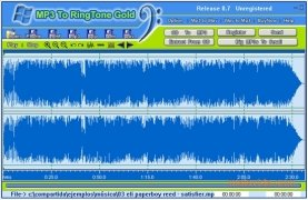 MP3 To Ringtone  Gold 8.7 imagen 2
