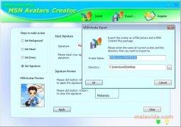 MSN Avatars Creator Изображение 1 Thumbnail
