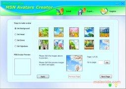 MSN Avatars Creator Изображение 2 Thumbnail