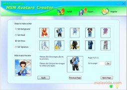MSN Avatars Creator immagine 3 Thumbnail