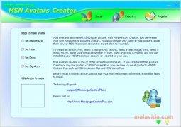 MSN Avatars Creator Изображение 4 Thumbnail