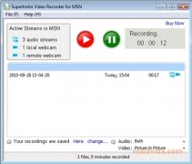 MSN/Live Messenger Webcam Recorder immagine 1 Thumbnail
