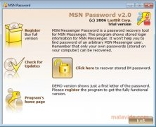 MSN Password imagem 1 Thumbnail