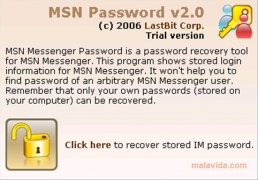 MSN Password imagem 2 Thumbnail