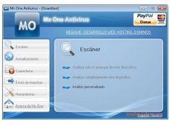 Mx One Antivirus immagine 1 Thumbnail