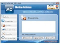 Mx One Antivirus immagine 2 Thumbnail