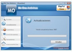 Mx One Antivirus image 3 Thumbnail