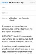 My Contacts Backup image 5 Thumbnail