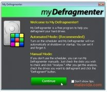 My Defragmenter bild 4 Thumbnail