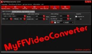 MyFFVideoConverter image 5 Thumbnail