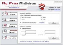 MyFreeAntivirus imagen 3 Thumbnail