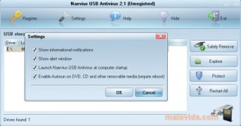 Naevius USB Antivirus Изображение 1 Thumbnail