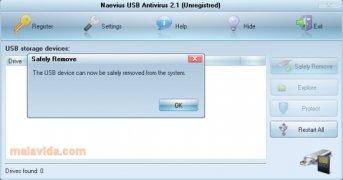 Naevius USB Antivirus Изображение 4 Thumbnail