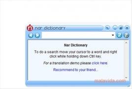 Nar Dictionary imagen 2 Thumbnail