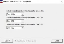 Nimo Codec Pack imagen 7 Thumbnail