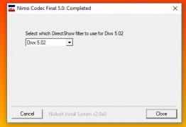 Nimo Codec Pack imagen 8 Thumbnail