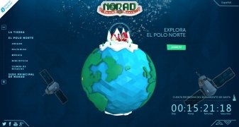 NORAD Tracks Santa imagen 1 Thumbnail