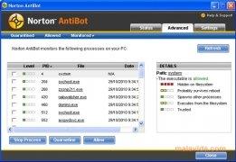 Norton AntiBot imagem 2 Thumbnail