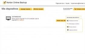 Norton Online Backup image 1 Thumbnail