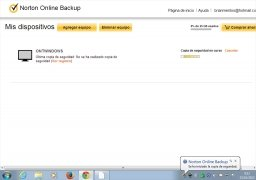 Norton Online Backup image 3 Thumbnail