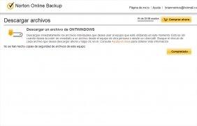 Norton Online Backup image 5 Thumbnail