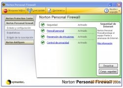 Norton Personal Firewall imagen 1 Thumbnail