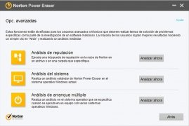 Norton Power Eraser bild 2 Thumbnail