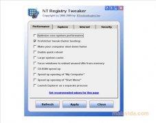 NT Registry Tweaker imagen 1 Thumbnail
