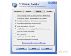 NT Registry Tweaker imagen 3 Thumbnail