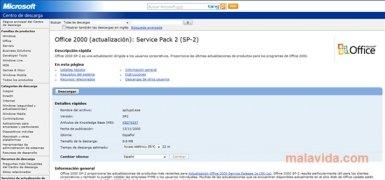 Office 2000 SP2 imagen 3 Thumbnail