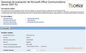 Office Communications Server 2007 imagem 2 Thumbnail