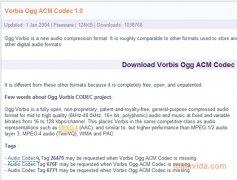 Ogg Vorbis ACM Codec image 3 Thumbnail