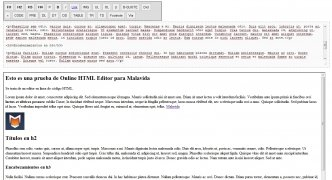 Online HTML Editor immagine 1 Thumbnail